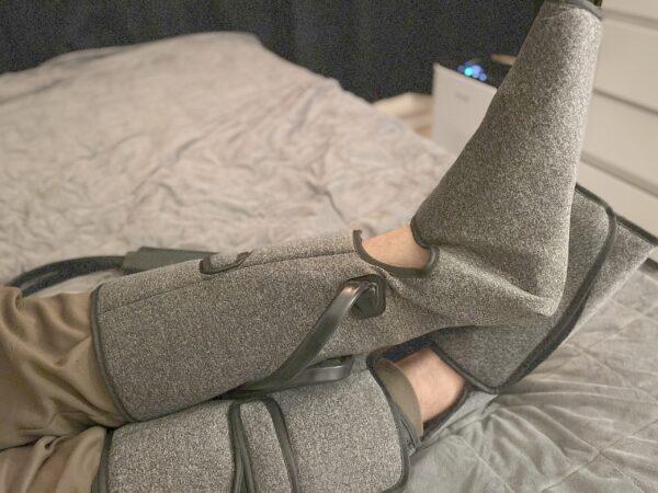 Moonbooth recovery boots for venepumpsmassage